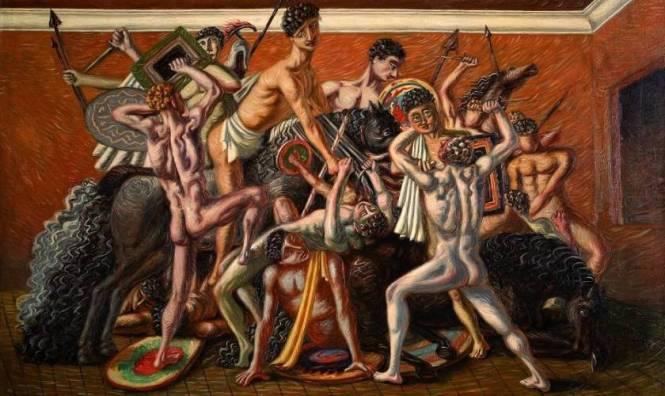 La scuola dei Gladiatori di De Chirico;