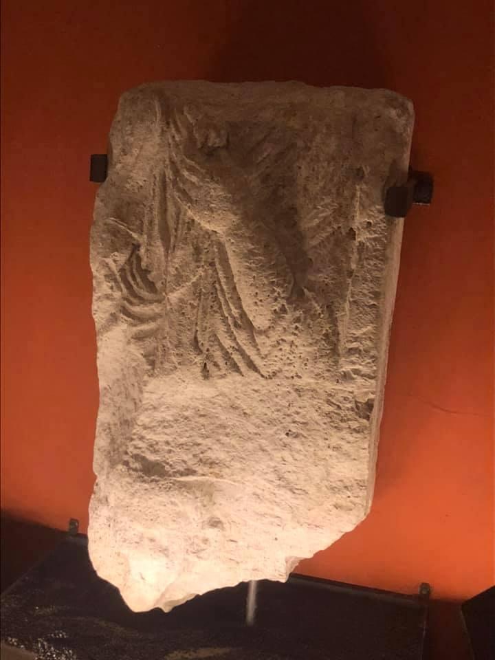 La stele Museo Archeologico di Angera