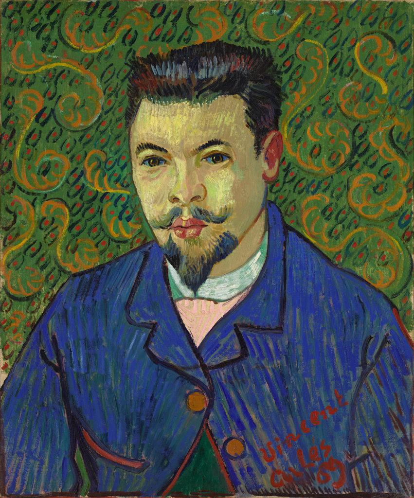 Vincent Willem Van Gogh - Ritratto del Dottor Rey