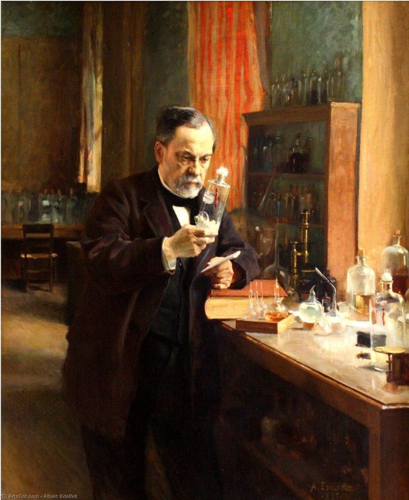 Albert Edelfelt-Louis Pasteur