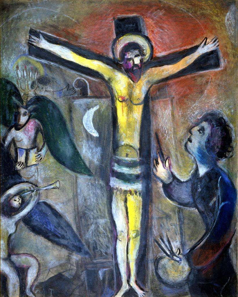Chagall - Le Christ et le peintre