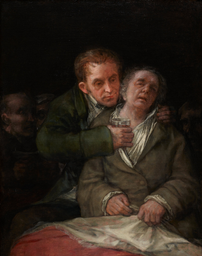 Francisco Goya - Goya curato dal Dottor Arrieta