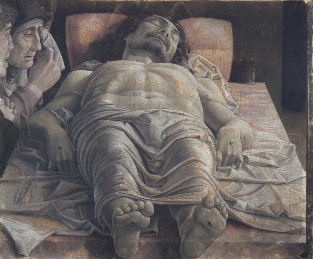 Il Cristo morto Mantegna