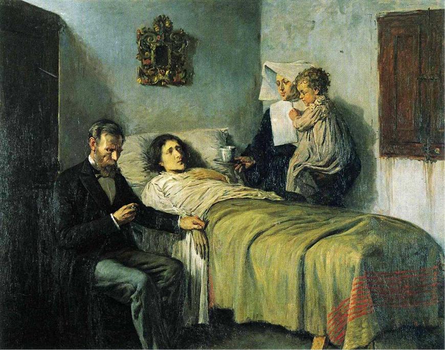 Scienza e Carità Pablo Picasso