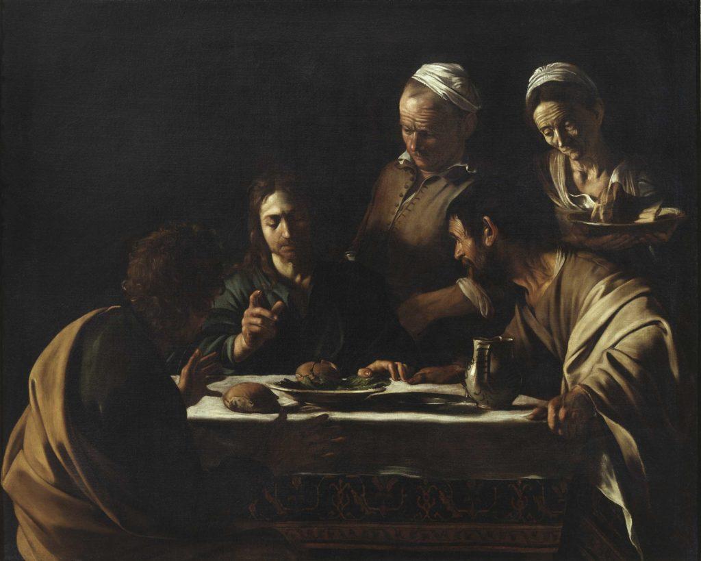 La Cena in Emmaus - Caravaggio
