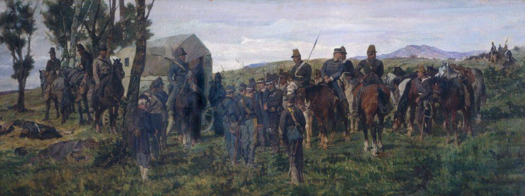 Episodio della Battaglia di Custoza - Giovanni Fattori
