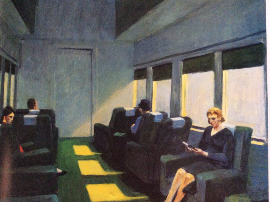Vagone Edward Hopper