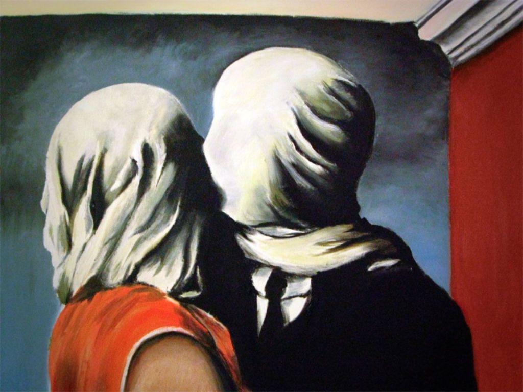Gli amanti - René Magritte