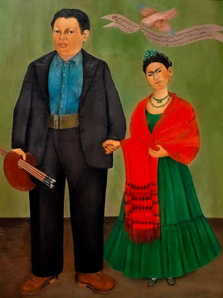 Frida Kahlo - Frida e Diego 1931